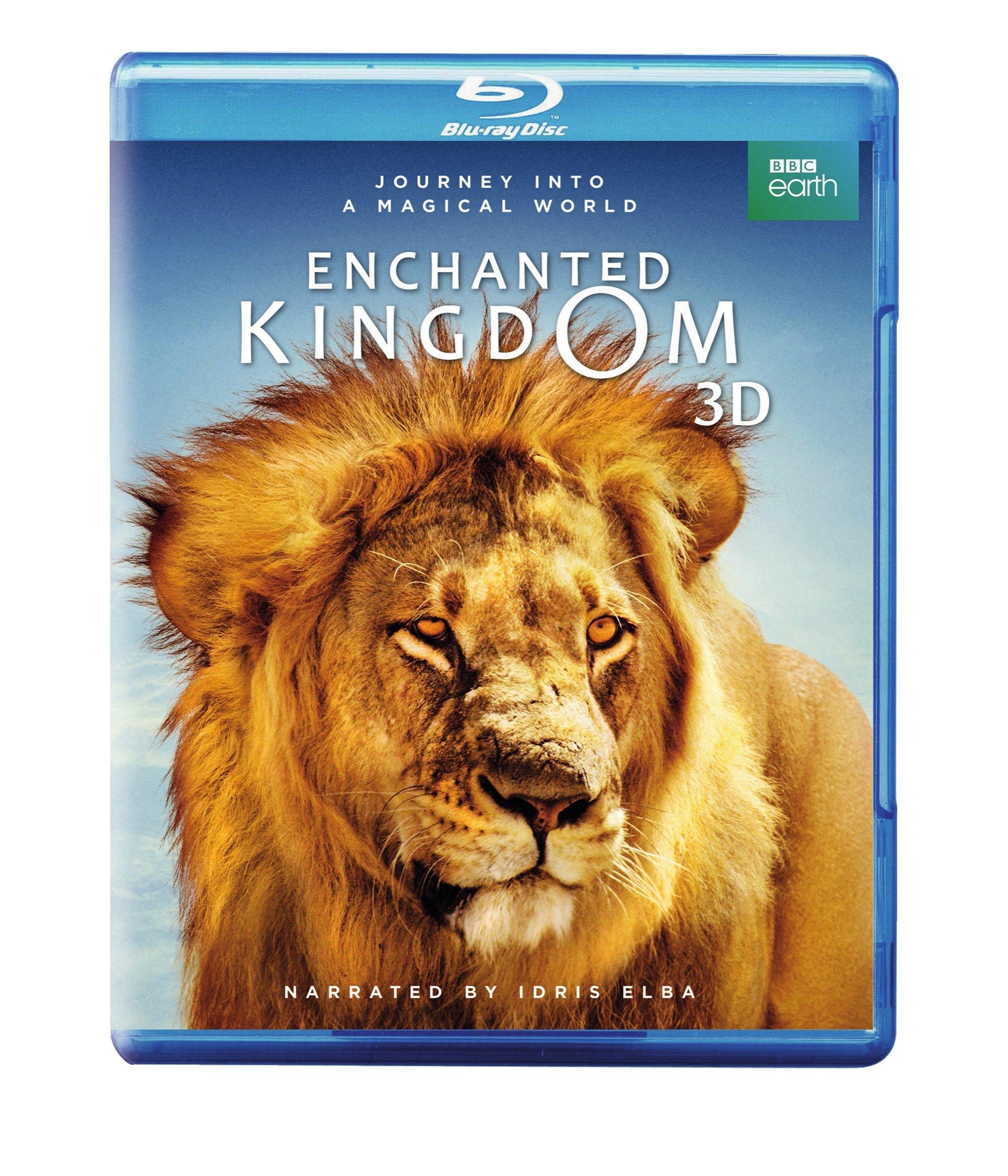 Enchanted Kingdom 3D (BD 3D / BD / DVD) [Blu-ray]