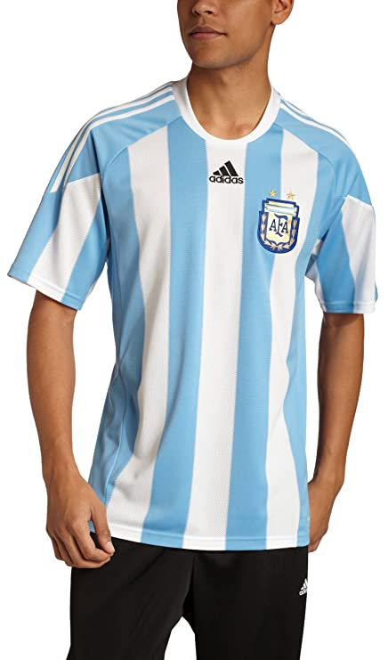 45ee911efd6 Amazon.com   Argentina Home Soccer Jersey   Sports Fan Soccer ...