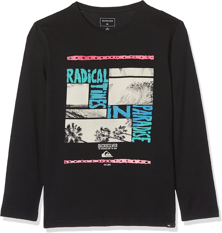 Quiksilver LS Classic tee YTH Radical Tri Camiseta de Manga Larga, Niños: Quiksilver: Amazon.es: Ropa y accesorios
