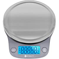 Etekcity 0.1g Food Kitchen Scale, Digital Grams and Ounces for Weight Loss, Baking, Cooking, Keto and Meal Prep, Large…