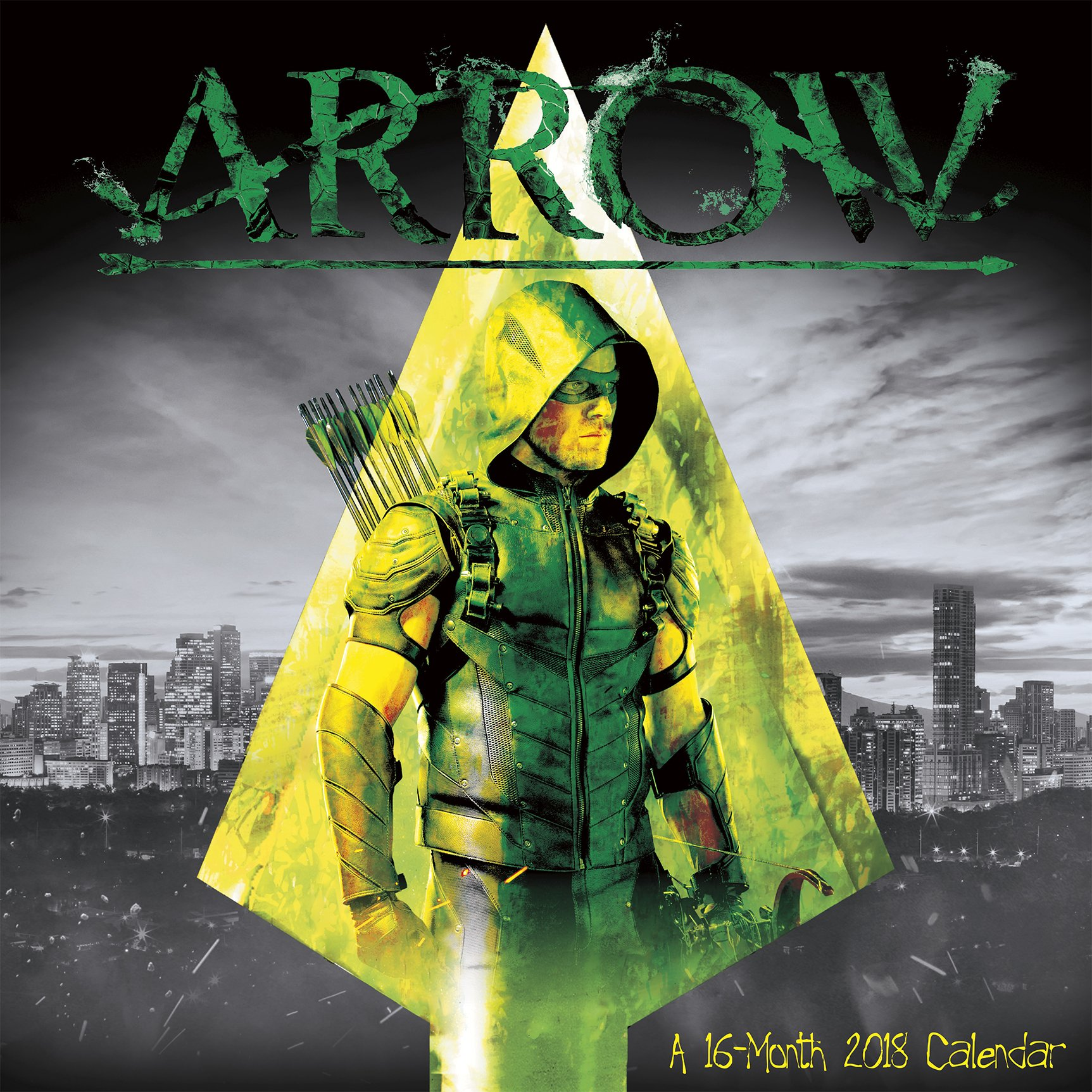 arrow 2018 wall calendar