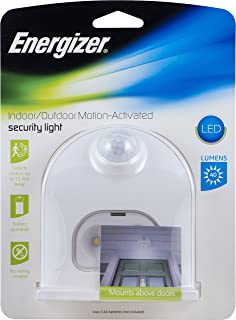 Energizer LED Motion-Activated Security Light, Battery Operated, 40 Lumens, Wireless,