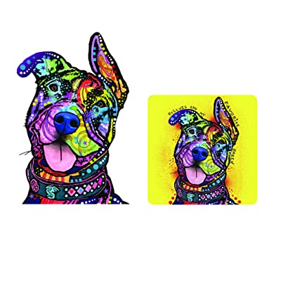 Enjoy It Dean Russo Pit Bull Car Sticker & Air Freshener Set: Toys & Games