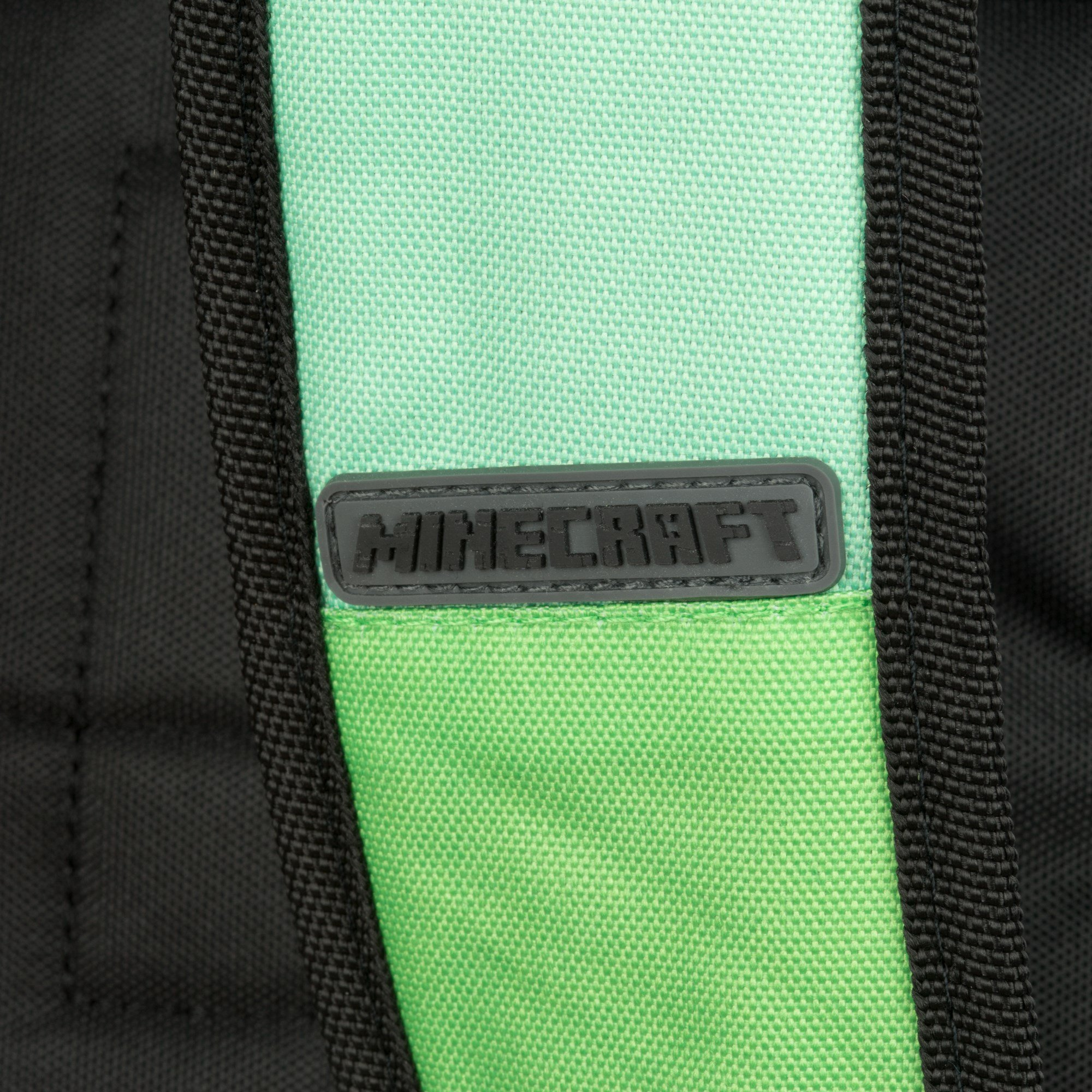 JINX Minecraft Creeper Kids Backpack (Green, 18'') for School, Camping, Travel, Outdoors & Fun by JINX (Image #5)