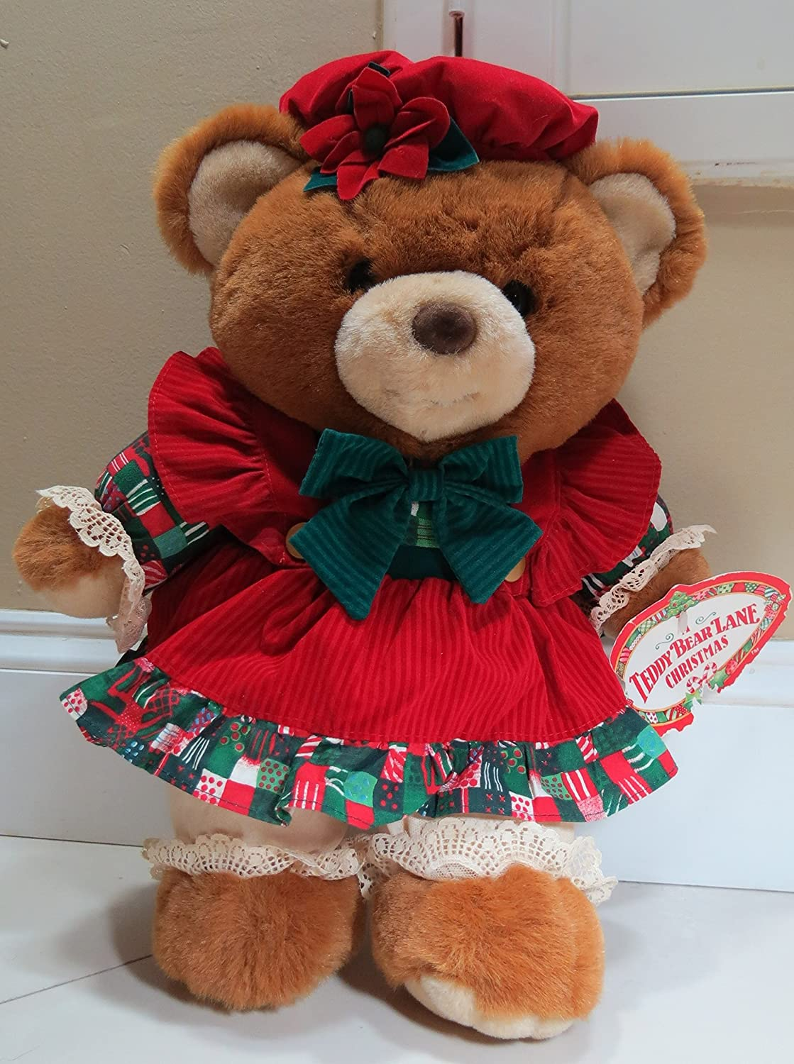 Amazon.com: 1994 Kmart CHRISTMAS A TEDDY BEAR Lane Girl 19\