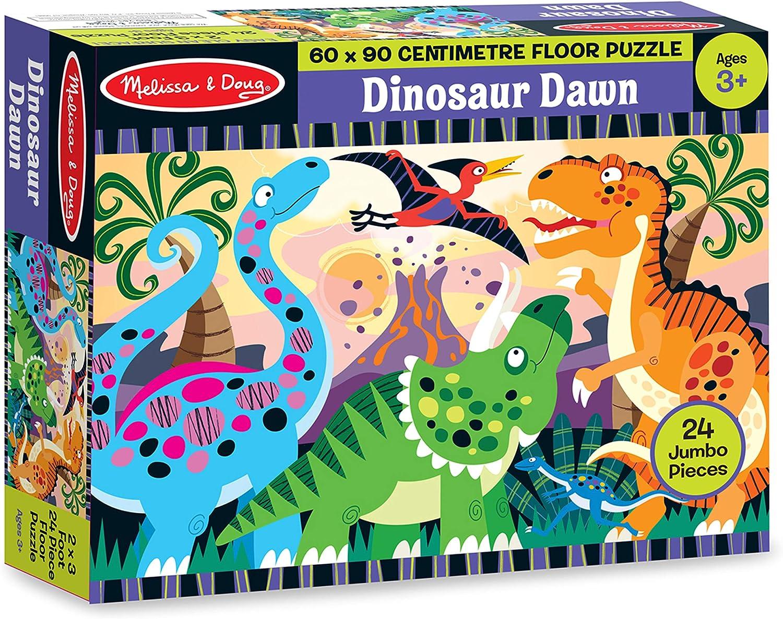 Melissa /& Doug Dinosaures Floor Puzzle