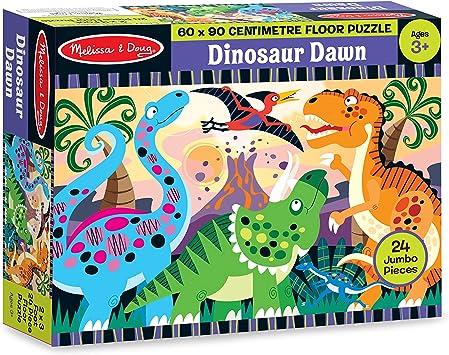 Melissa & Doug 24pc Dinosaur Dawn Floor Puzzle