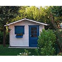 Dekalux - Caseta de madera para jardín 3x