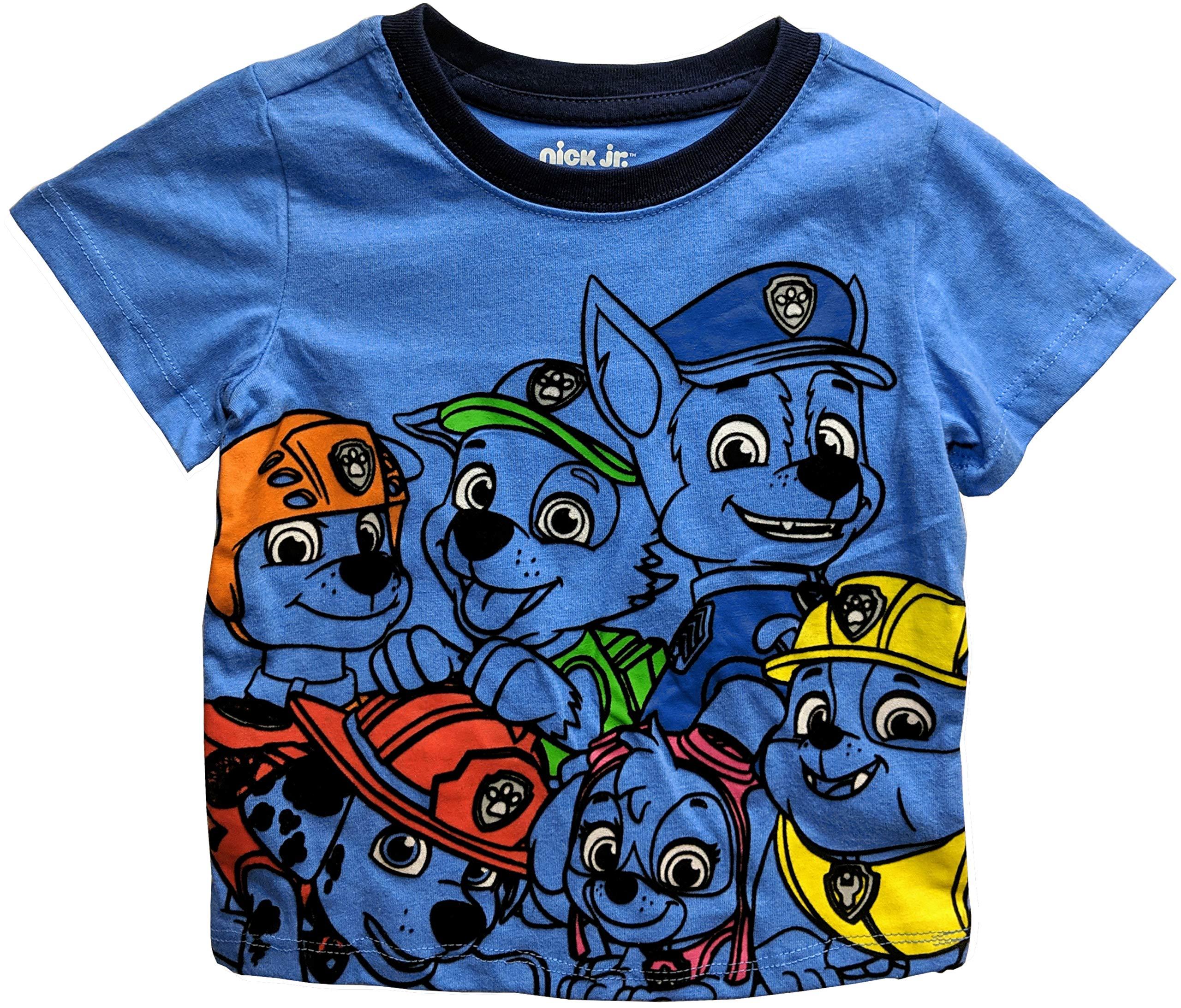 Paw Patrol Little Boys' Toddler Group T-Shirt