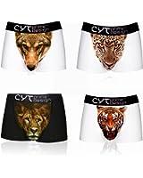 cytprimedesign Men's 3d Printing Boxer Briefs/Underwear with Animal Pattern