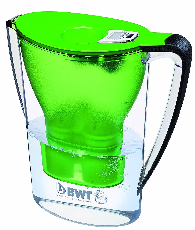 BWT Penguin Electrónica - Jarra filtradora de agua con magnesio + Pack 12 filtros jarra de agua, 2,7 L Verde: Amazon.es: Hogar