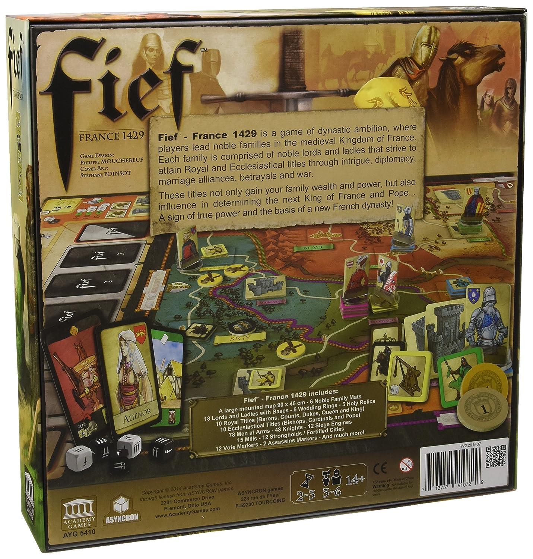 Academy Games ACA05450 - Fief, Brettspiel: Amazon.de: Spielzeug