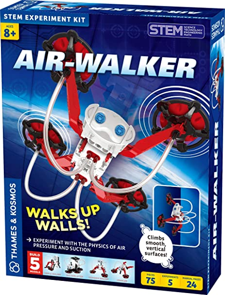 Amazon com: Thames & Kosmos Air-Walker Gravity-Defying Wall