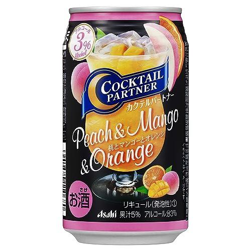 アサヒ カクテルパートナー『桃とマンゴーとオレンジ』