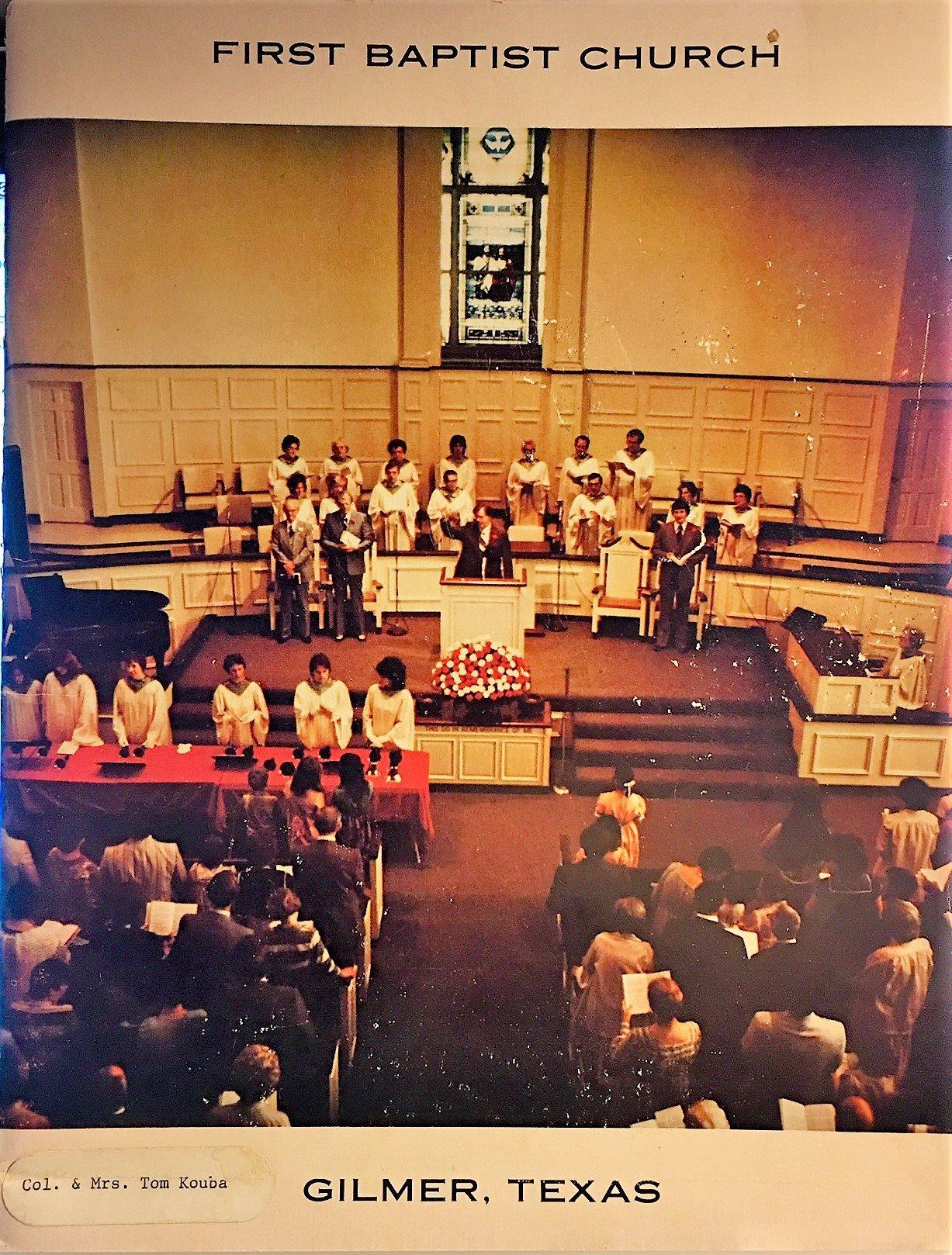 First Baptist Church, Gilmer, Texas Church Directory: Pastor