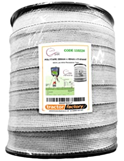 McGrath Supplies 100 x Tape Electric Fence Fencer Energiser Screw In