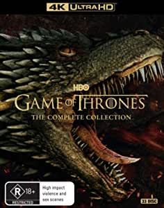 Game of Thrones: Season 1-8 (4K UHD + Blu-ray)