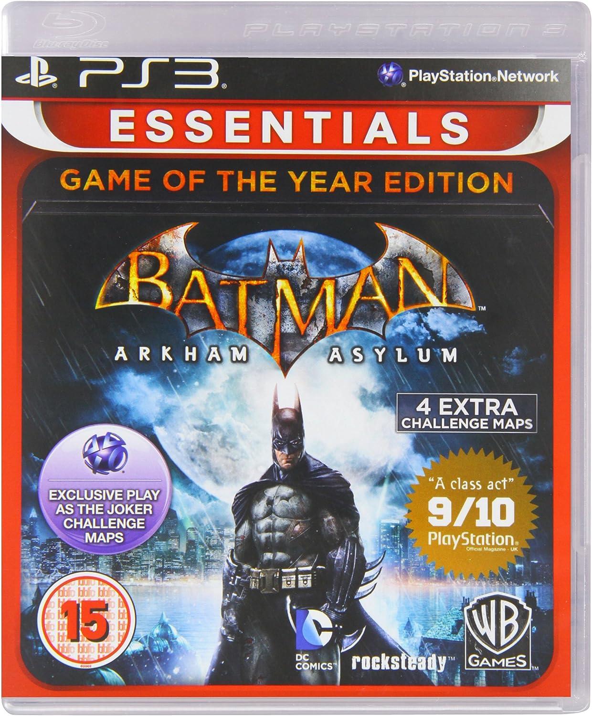Batman: Arkham Asylum - Game Of The Year Edition Ps3: Amazon.es: Videojuegos