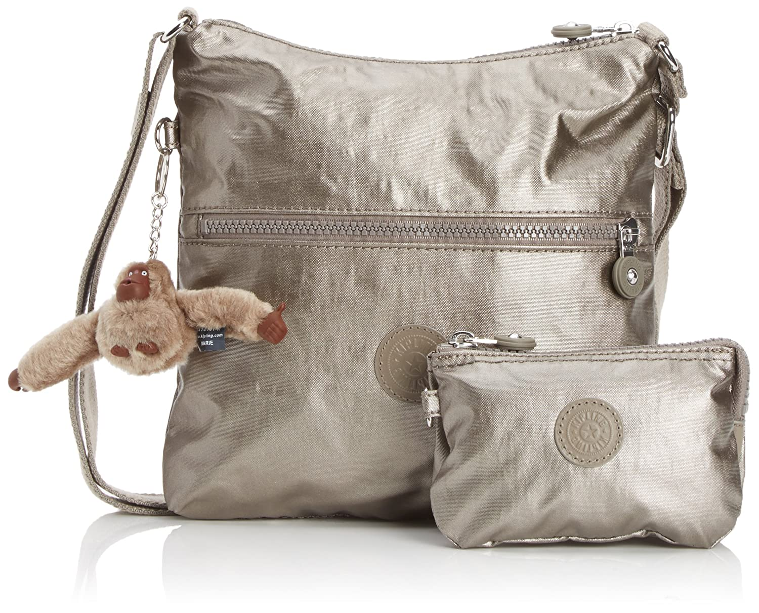 Kipling Women's Alexane Shoulder Bag K12463C21 Lacquer Pewter