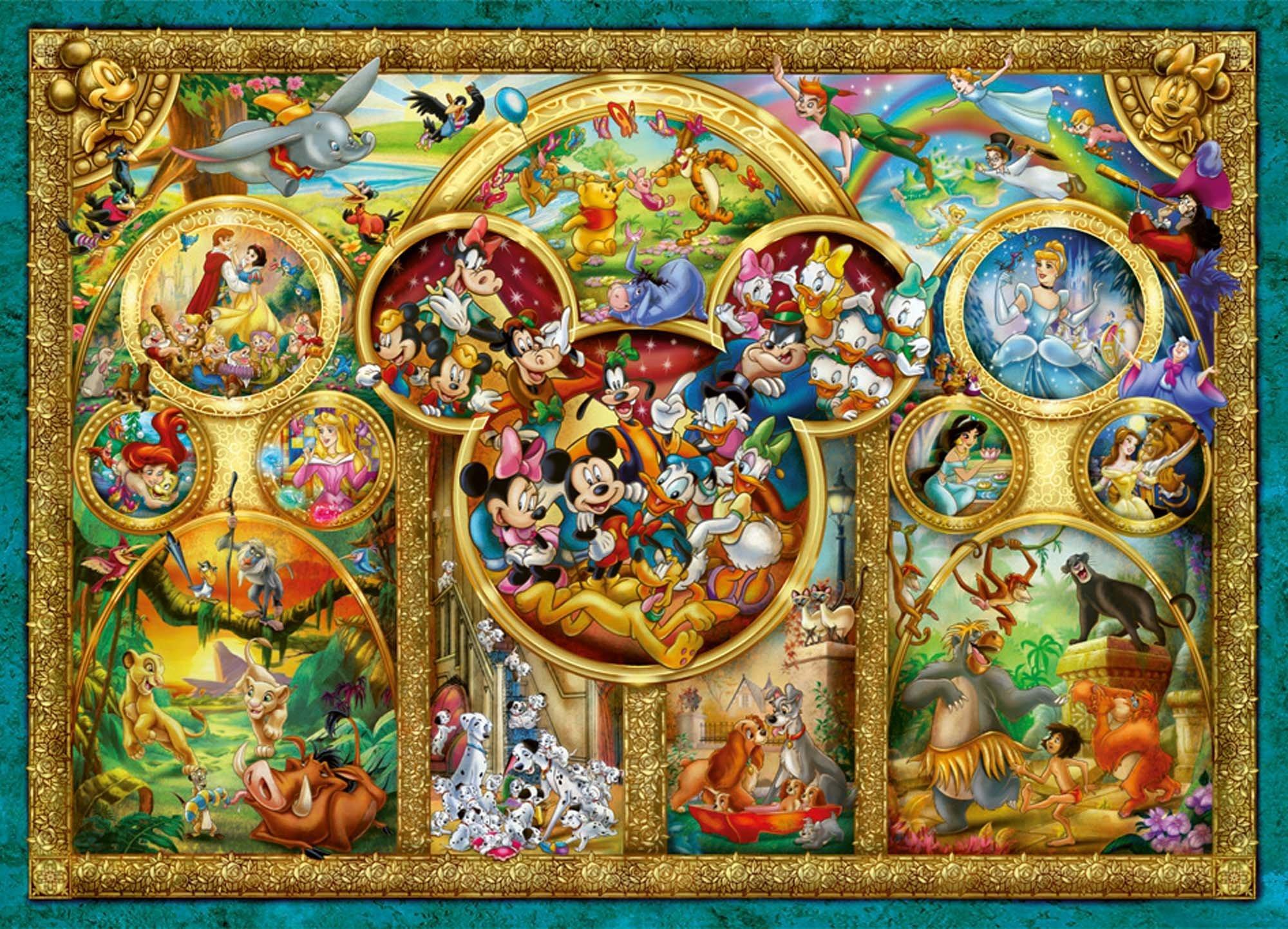 Comprar Ravensburger 15266 Lo Mejor de Disney - Puzzle (1000 Piezas)