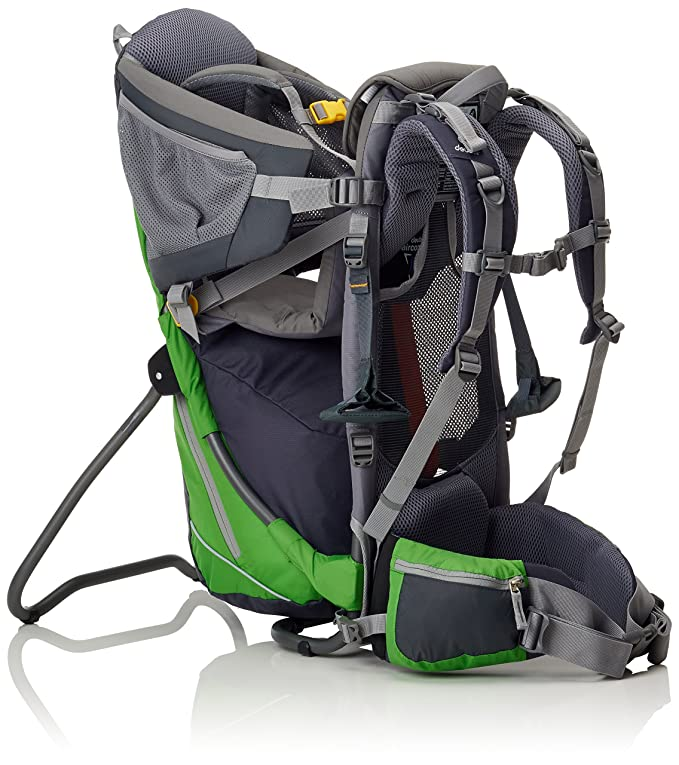 4934229b37 Deuter Kid Comfort Air 36504- Zaino Unisex Adulto, Verde (Graphite/Spring),  70 x 43 x 32 cm, 14 L: Amazon.it: Sport e tempo libero