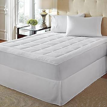 twin xl mattress pad amazon Amazon.  LoftWorks Rio Home Fashions Overfilled Super Soft  twin xl mattress pad amazon