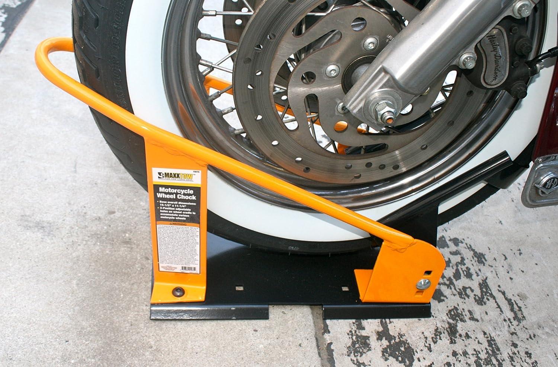Amazon Com Maxxhaul 70075 Motorcycle Wheel Chock Automotive