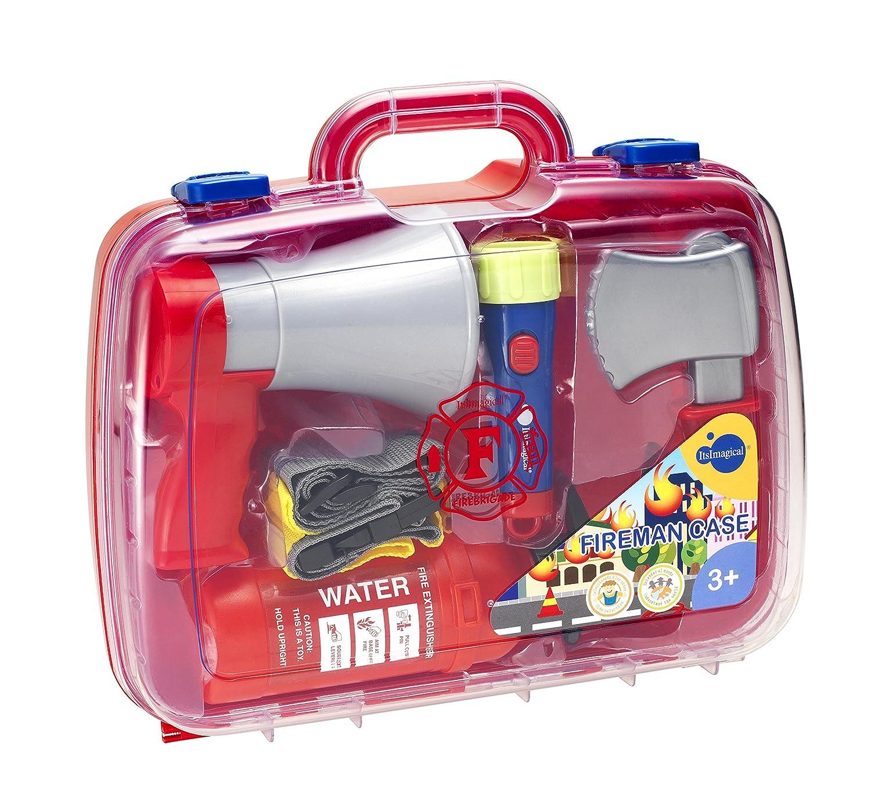 itsImagical - Fireman Case, maletín de Bomberos (Imaginarium 85481): Amazon.es: Juguetes y juegos