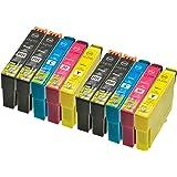 10 Patronen kompatibel XL für Epson T2701 - T2704 Workforce Epson WF3620DWF WF3640DTWF WF7110DTW WF7610 WF7620 DTWF