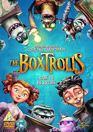 Amazon.com: The Boxtrolls [DVD...