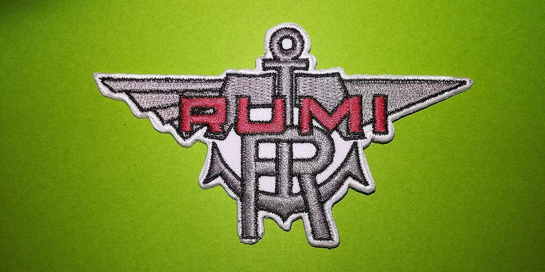 Toppa Vintage Blu Hawai A613 Rumi Moto Vintage 10 x 6 cm