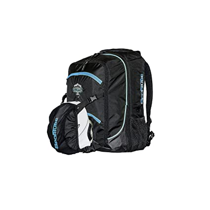 96b874325799 Sportube Overheader Padded Gear and Boot Carry on Backpack Blue Black