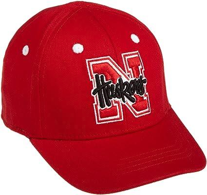 buy online 6cae1 96598 Nebraska Cornhuskers Infant One-Fit Hat, Red Black