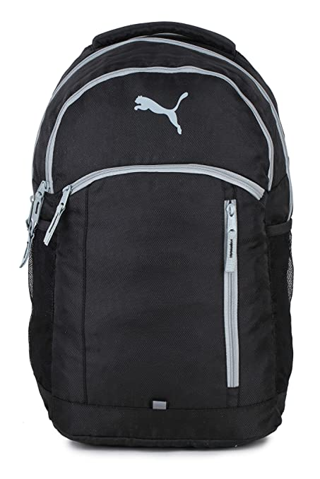 1c29125193bc Puma Black Casual Backpack (07554402)  Amazon.in  Bags