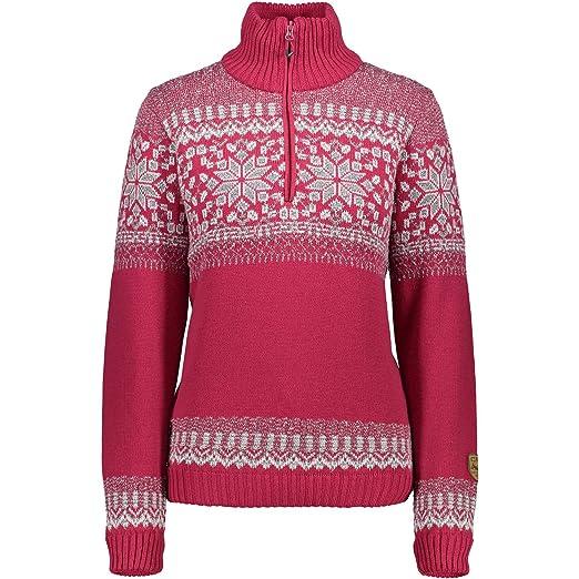 CMP Damen Knitted Pullover  Amazon.de  Sport   Freizeit 7762ead839