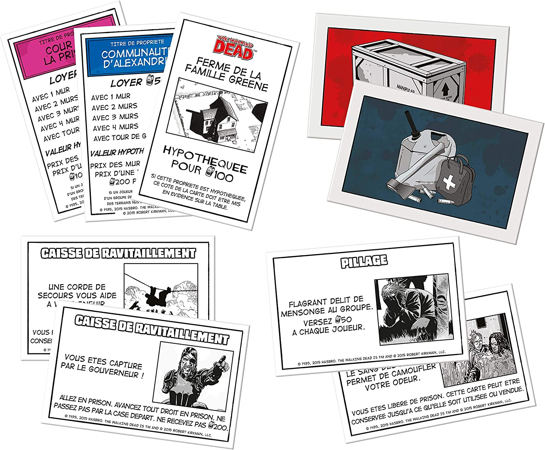 Winning Moves - Monopoly: The Walking Dead (JJSO0002448) (versión en francés): Amazon.es: Juguetes y juegos