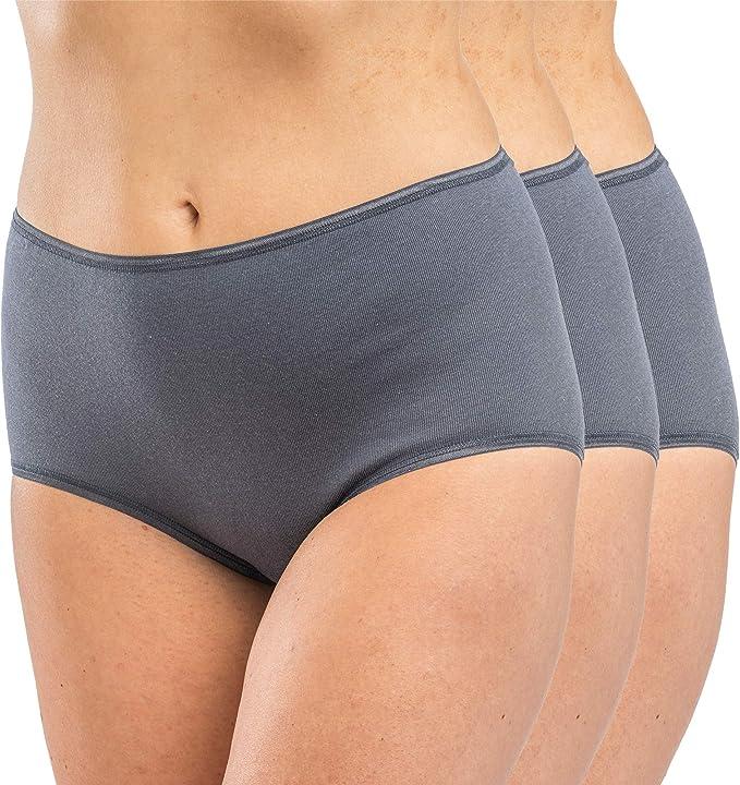 Hermko 17011 - Bragas de algodón para mujer (3 unidades): Amazon ...