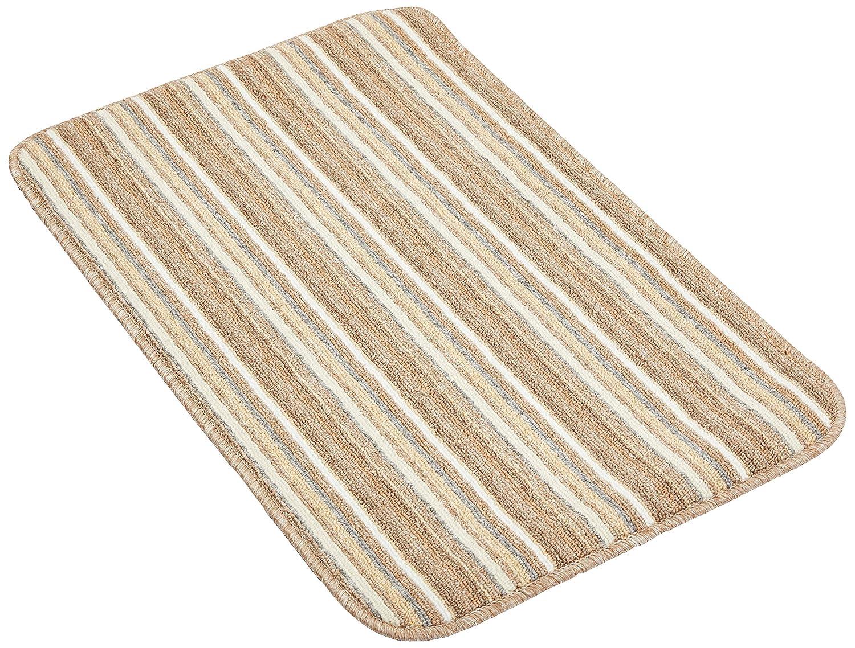 Ios Stripe Indoor Washable Rug 80 x 50 Dandy by William Armes Cream