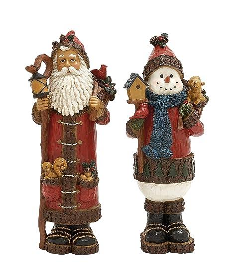 Plutus Brands Charming /& Special Santa Figurine
