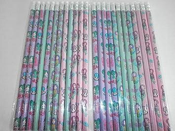 12 Bleistifte mit Radiergummi Fußball Kindergeburtstag Schule Mitgebsel Giveaway