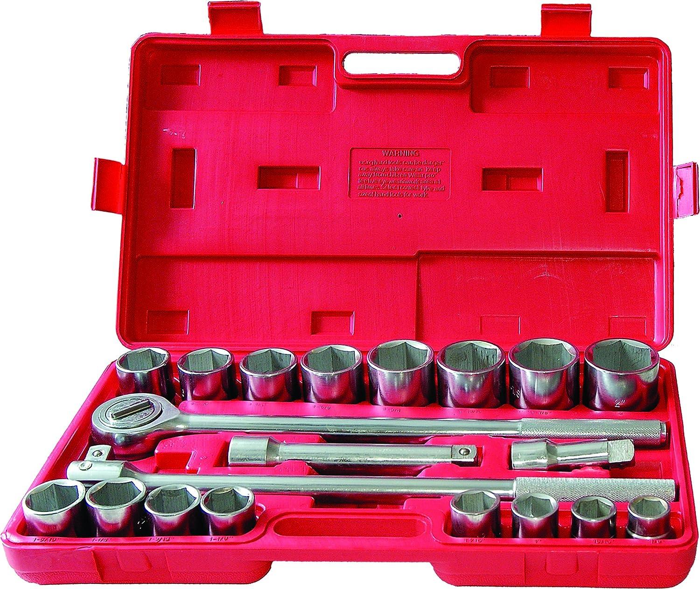 Matrix 701151 Jumbo Socket Set 21 Piece SAE