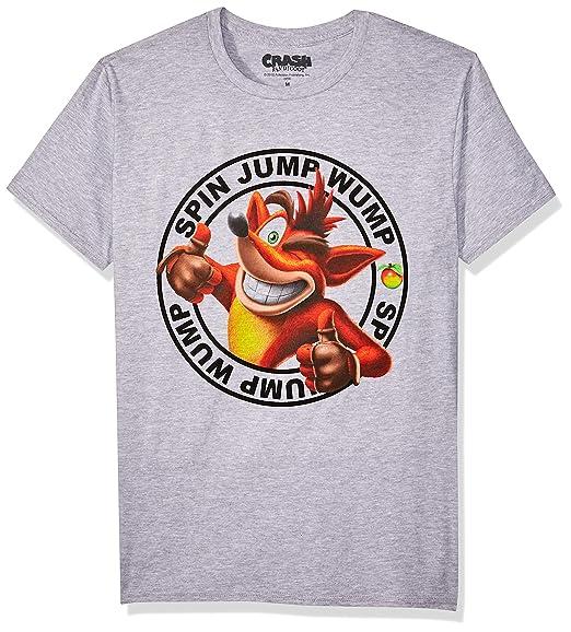 Bioworld Crash Bandicoot Camiseta para Hombre  Amazon.com.mx  Ropa ... 7ea8d09e7b2b8