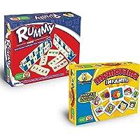 Novedades Montecarlo Rummy Mini con Memorama Infantil