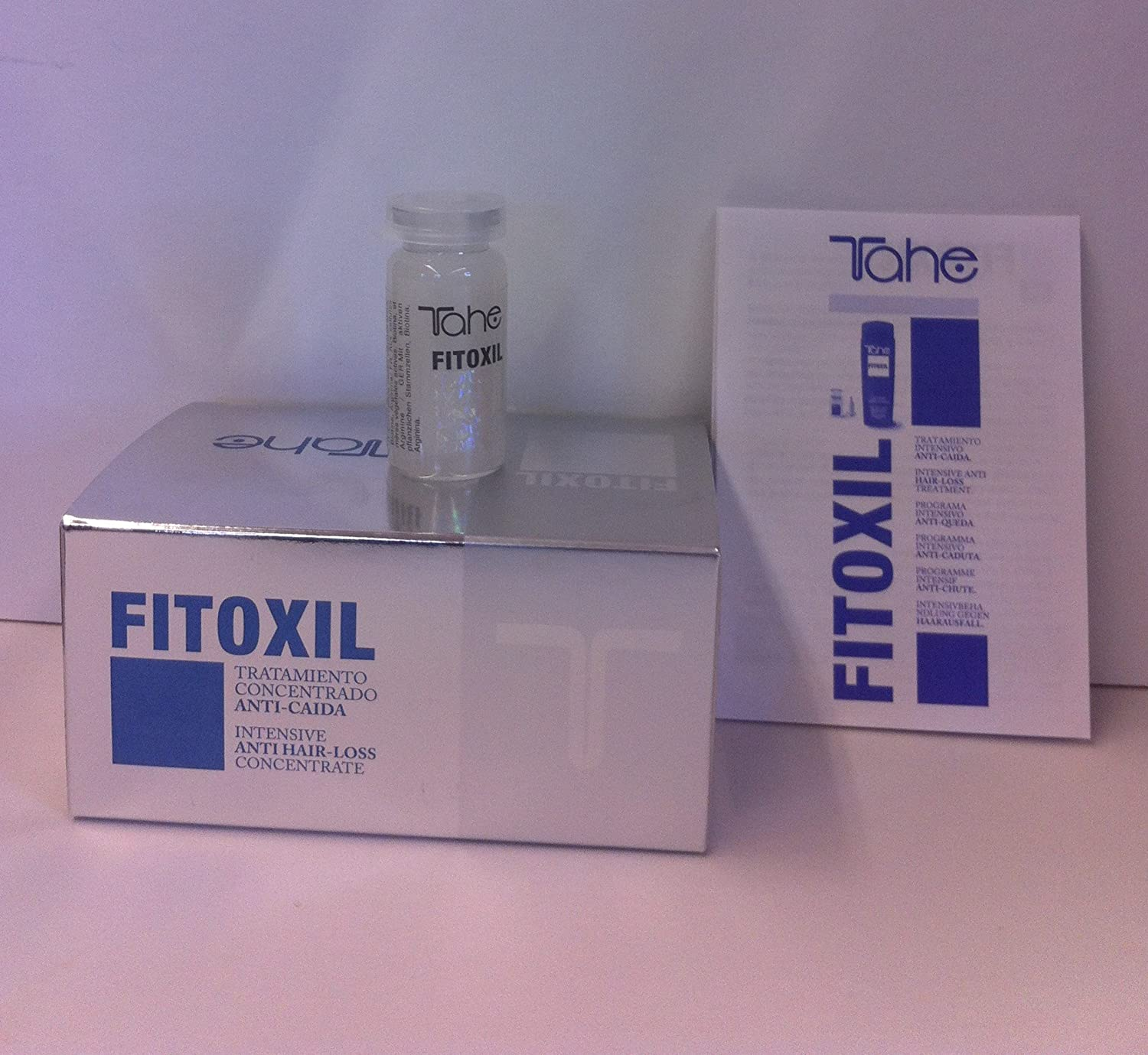 Amazon.com : Fitoxil Intensive Anti Hair-loss Treatment 5 X 10ml : Beauty