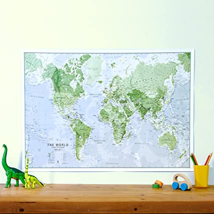 Glow in the dark map of the world map is illuminated at night glow in the dark map of the world map is illuminated at night childrens gumiabroncs Images