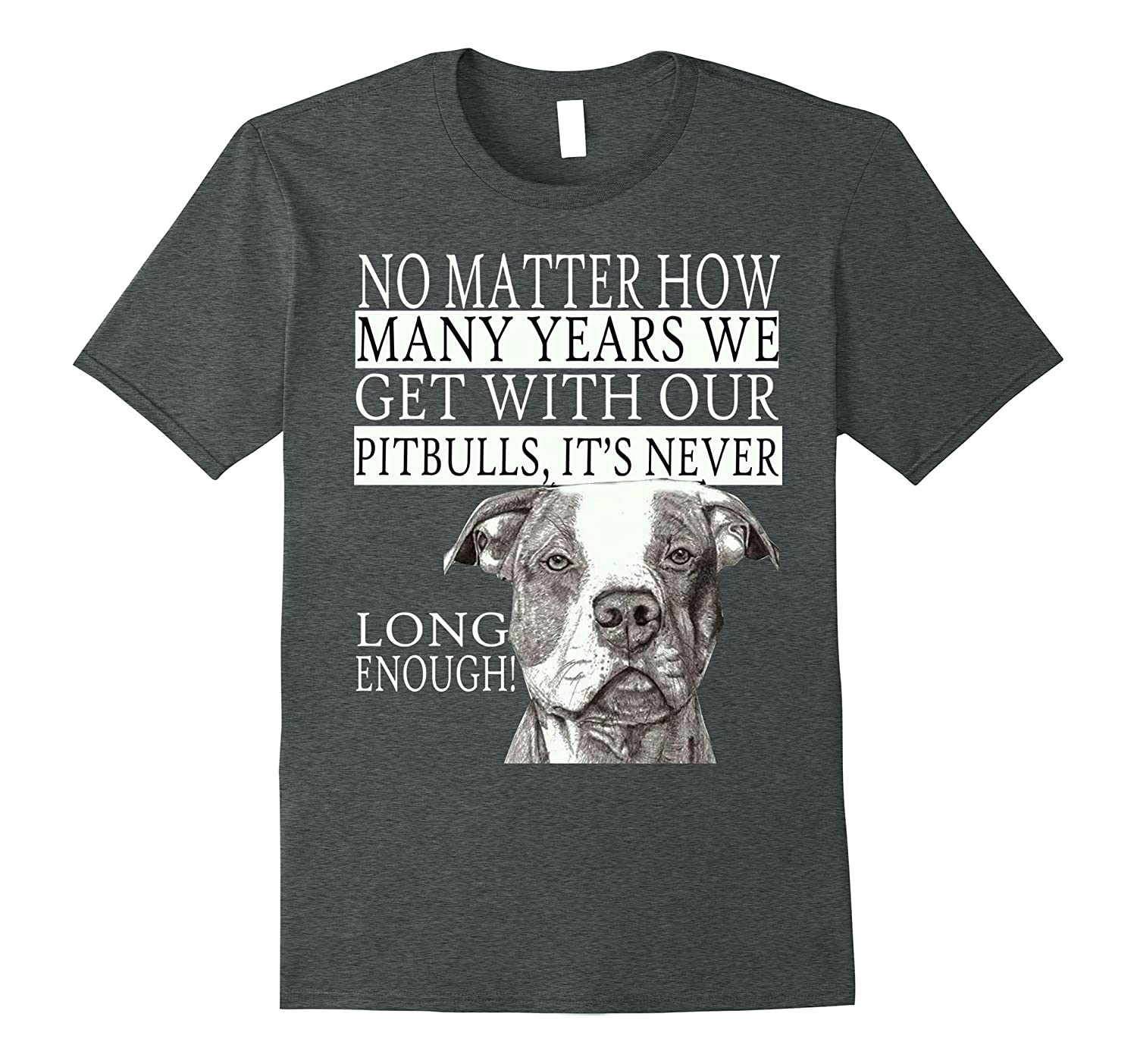 Many Years We Get With Our Pitbulls Tshirt-CD