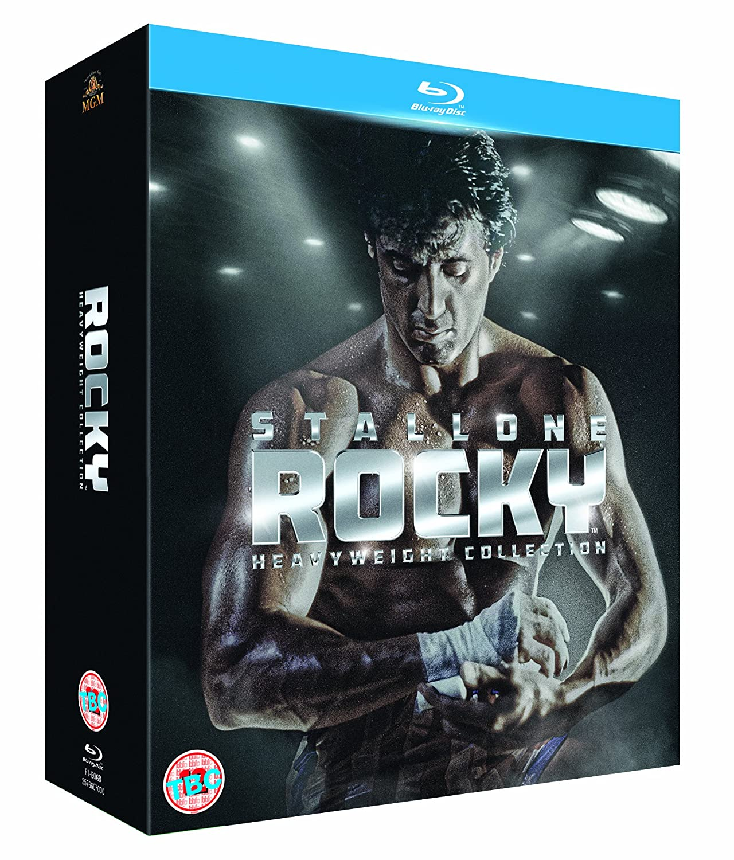 Rocky The Complete Saga 6 Titles BD Italia Blu-ray: Amazon.es: Sylvester Stallone, Talia Shire, Burt Young, Carl Weathers, Burgess Meredith, Thayer David, Joe Spinell, Jimmy Gambina, Bill Baldwin, Al Silvani, John G.