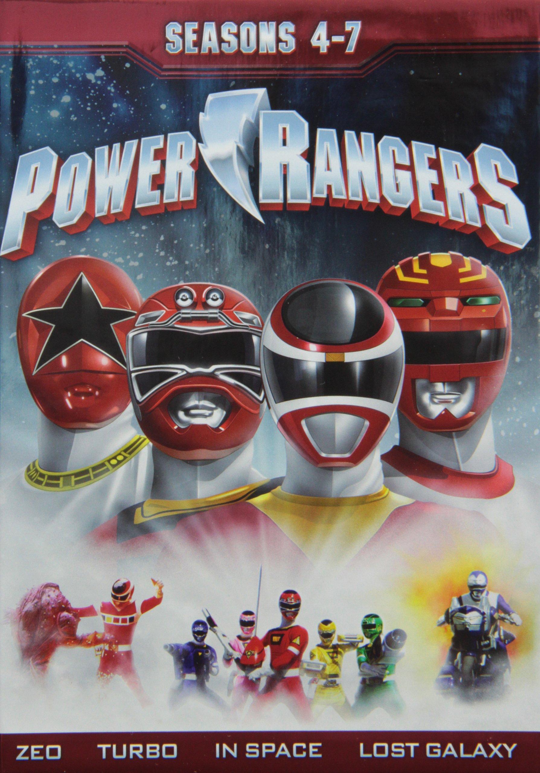 Power Rangers: Seasons Four - Seven by DVD International