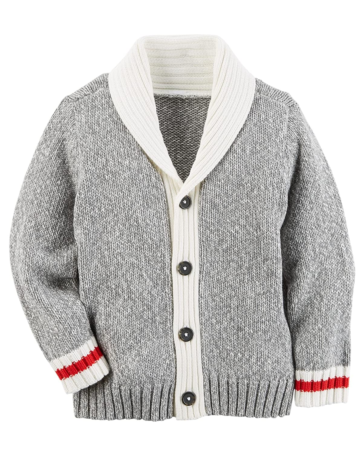 Carter's Boy Shawl Collar Cardigan