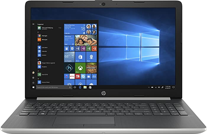 "New HP 15.6"" HD Touch Intel i5-8250U 3.4GHz 4GB DDR4 1TB HDD + 16GB Optane DVD Webcam Bluetooth HDMI Windows 10"